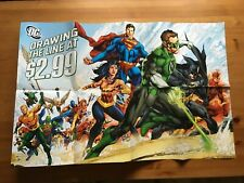 DC Comics 2011 Justice League New 52 Poster Holding the Line at $2.99