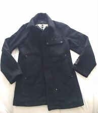 G Star Raw Ward P coat jacket Winter Black 70% wool