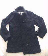 G Star Raw Ward P coat jacket Winter Black 70% wool