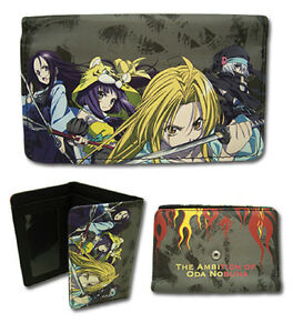 *Legit* The Ambition of Oda Nobuna Anime Group with Fire Authentic Wallet #61978