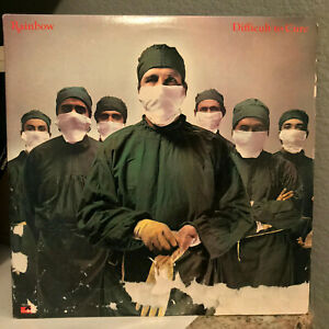"""RAINBOW - Difficult To Cure (PD-1-6316) - 12"""" Vinyl Record LP - VG+"""