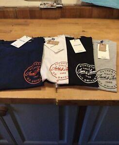 Jack & Jones Moren  t shirt (chest logo) regular fit 4 colours S-XXL