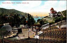 Band-Stand Santa Catalina Island California Postcard