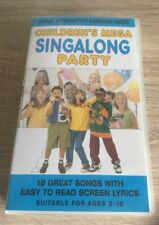 Children's Mega Singalong Party [VHS] [VHStape] [2003] With Kylie ,Thunderbirds