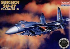 ACADEMY 1/48 SUKHOI SU-27 ATTACCO FIANCO B #12270