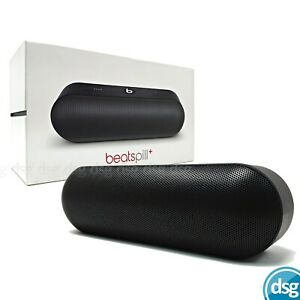 Beats Pill+ Portable Wireless Speaker - Stereo Bluetooth, 12hrs - Black
