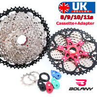 BOLANY 8/9/10/11S MTB Bike Cassette11-40/42/46/50T Cogs Chain Fit Shimano/SRAM
