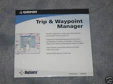 Garmin Mapsource * Trip & Waypoint Manager ver 2.02 work w/ windows 010-10215-04