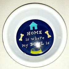 Word Design Pet Dog Cat Water Food Bowl