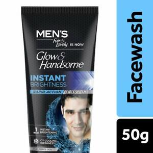 Fair & Lovely Glow & Handsome Instant Brightness Rapid Action Face wash 50 g