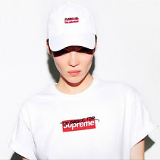 "Muschi Kreuzberg ""Too Broke for Supreme"" Box Logo Tee WHITE OFFICIAL DE Size M"