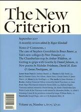 The New Criterion September 2017