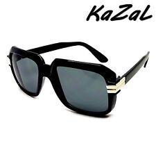 LUNETTES DE SOLEIL KAZAL HOMME FEMME CARRE ARGENT EVIDENCE BILLIONNAIRE NOIR OR