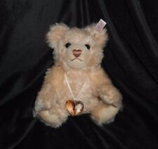 STEIFF SWAROVSKI 2007 CRYSTAL TEDDY BEAR JEWELS 669873 STUFFED ANIMAL PLUSH TOY