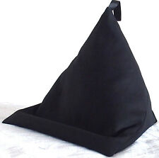 BLACK resting cushion pillow for iPad Book Tablet eReader Holder Stand beanbag