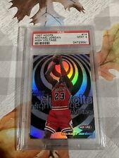 1997 Hoops High Voltage Michael Jordan Psa 9 Population of 40