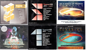Trance CD Music Collection (6 Multi Set Collection)