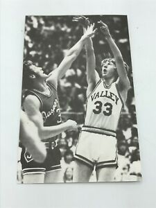 Larry Bird Spring Valley High School Postcard Basketball Hall of Fame Indiana