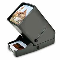 35mm Slide Viewer, 3X Magnification and Desk Top LED Lighted Illuminated Viewing
