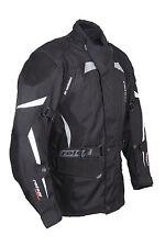 original Roleff Racewear- long textile motorcycle jacket with nubuck leather