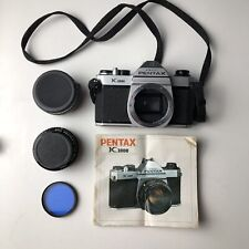 Pentax K1000 35mm SLR Film Camera 50mm f/2 - NICE & WORKS GREAT!