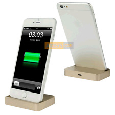 Station Accueil BASE DOCK Doré compatible APPLE iPhone 6