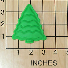 Christmas Tree Shape Fondant Cookie Cutter and Stamp #1437