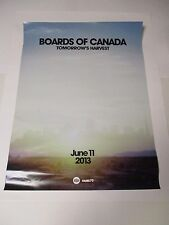 Boards Of Canada Tomorrow's Harvest Poster Rare Promotional Only 24 X 18 NEW