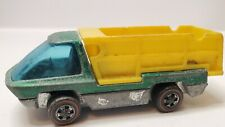 Vintage Hot Wheels Redlines Heavyweights Scooper Truck Green 1969 Missing Lift