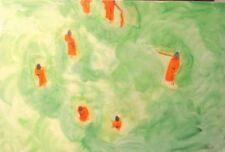 Artist Oil Green Art Paintings