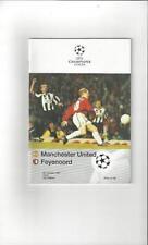 Feyenoord Teams F-K Champions League Football Programmes