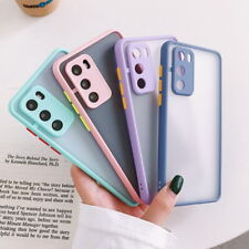 Camera Lens Protection Matte Hard Case Cover For Huawei P40 P30 P20 Pro Mate 20