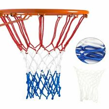 Replacement Basketball Net All Weather Hoop Goal Standard Rim Outdoor White/Blue