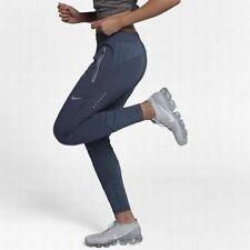 "Nike Swift Women's 27"" Running Pants XL Blue Gym Casual Training Yoga Running"