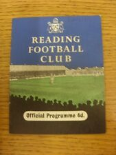 29/09/1958 Reading v Bury  (writing on front). Thanks for viewing this item, buy