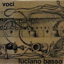 Luciano Basso-Voci Italian prog mini lp cd