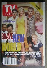 """June 24, 2000 TV GUIDE Media One Edition with Cast of """"The Real World""""  Cover"""