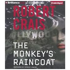 THE MONKEY'S RAINCOAT unabridged audio book on CD by ROBERT CRAIS - Brand New!