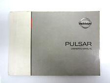 OWNER'S MANUAL BOOK NISSAN PULSAR N16