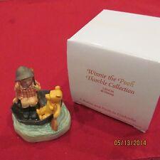 RARE Disney Lenox Winnie the Pooh C. Robin Thimble Ceramic Porcelain Figurine