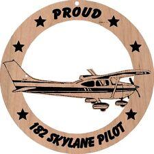 Cessna 182 Skylane Wood Ornament laser cut