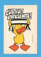 JUVE NELLA LEGGENDA-Ed.MASTER 91-Figurina/ADESIVO n.51- CURVA PRESENTE !-NEW