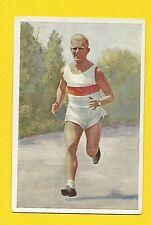 Paul de Bruyn Running Track & Field Vintage 1932 Sanella Sports Card #17