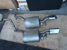 ROLLS ROYCE PHANTOM 2009 EXHAUST BACK BOXES GENUINE P/N 7519394