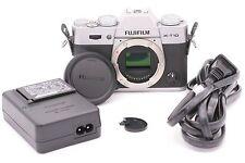 Fujifilm X Series X-T10 16.3 MP Digital Camera - Silver (Body Only)