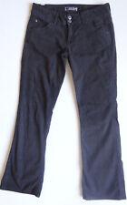 Hudson Designer Women's Jeans Wide Leg 2 Button Jeans Gray Denim Size 29