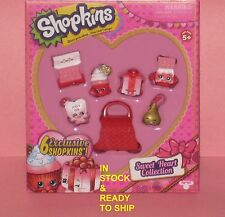SHOPKINS SWEET HEART COLLECTION VALENTINES DAY 6 EXCLUSIVE SHOPKINS NEW