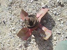 Farmall Cub tractor good working IH IHC engine motor fan blade &w/ belt pulley