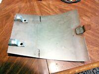 Norton Commando 750 850 skid bash plate crankcase sump guard with clips / clamps