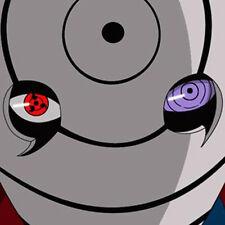 NARUTO Obito Uchiha Tobi Sharingan Rinnegan Eye 2pcs COSPLAY ACCESSORY NEW